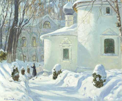 Олег Молчанов Сретение в Сретенском монастыре 2004
