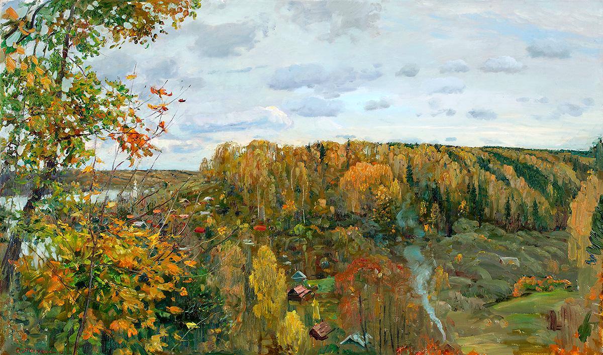 Олег Молчанов Запах октября Плёс 2012